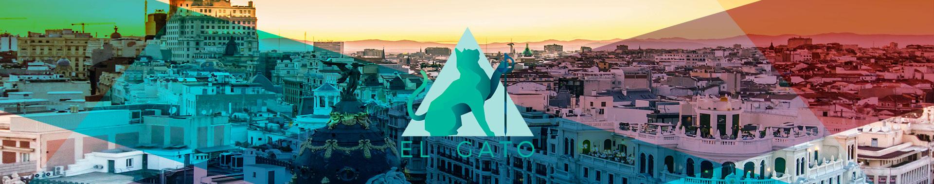 Cabecera de el Gato Esgrima en Madrid