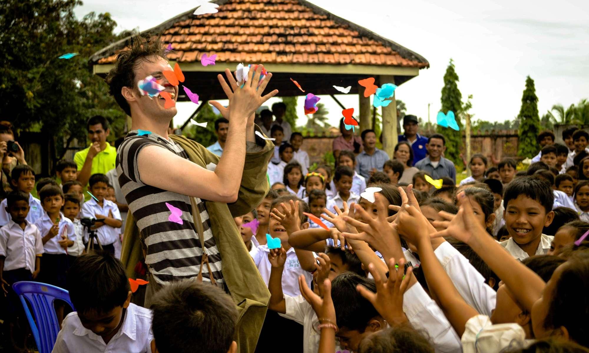 Kiki Lovechild international collaboration Epic Arts Cambodia