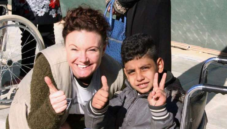 Laura Evans Zaatari Refugee Camp Inclusive Arts