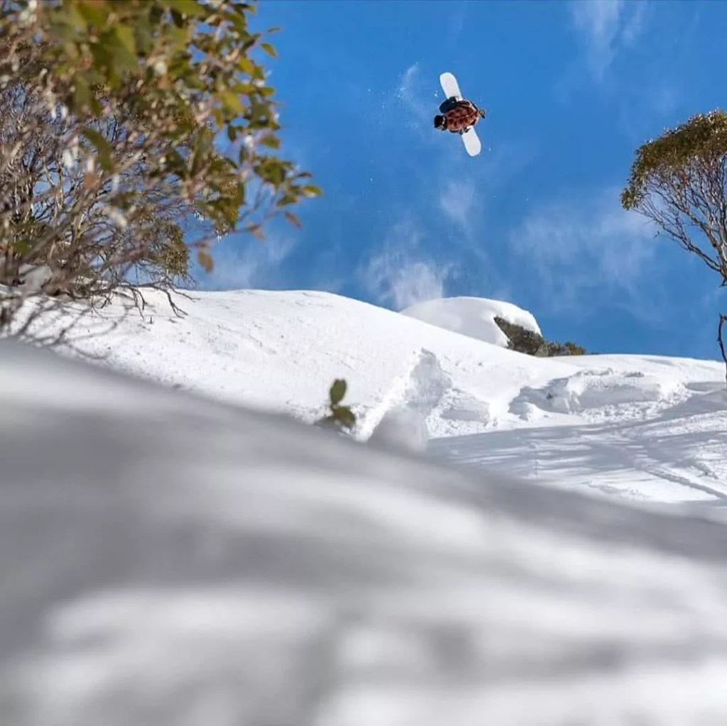 Flippin mental Shot by boenferguson Location  Near Perisher NSWhellip
