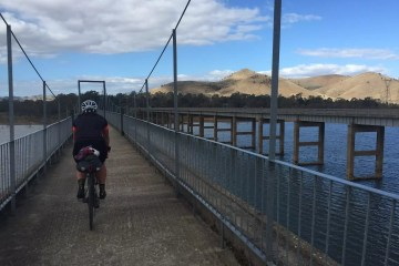 Chris Paola Great Victorian Rail Trail Acheron Way Vic Melbourne bikepacking mountain biking Eildon