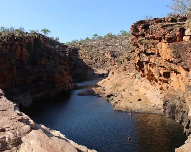 Red Dust // A Journey Along The Gibb River Road (WA) Ashlee Kehoe, waterhole, swimming hole, cliffs, valley