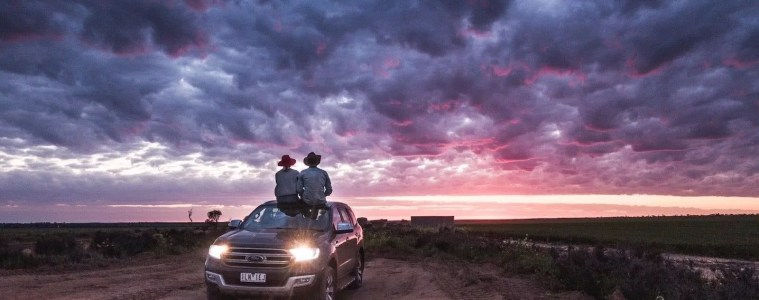 Drive & Seek // Grab A Free Adventure From Ford, Rob Mulally, Ford SUV, car, ute, sunset