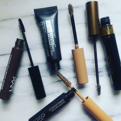 My shopping guide to affordable brow mascaras