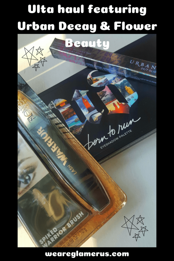 Check out my Ulta Haul Featuring Urban Decay & Flower Beauty