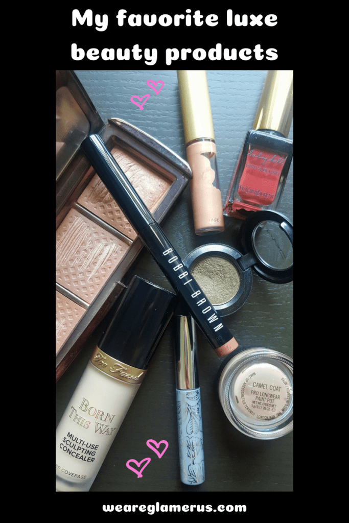 Check out my favorite luxe beauty products