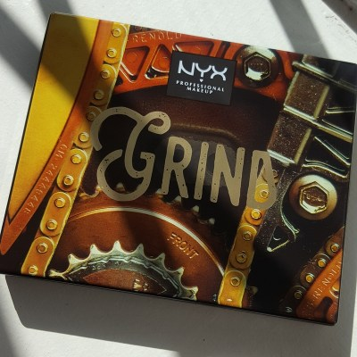 Hot product! NYX's Limited Edition Grind Machinist Palette