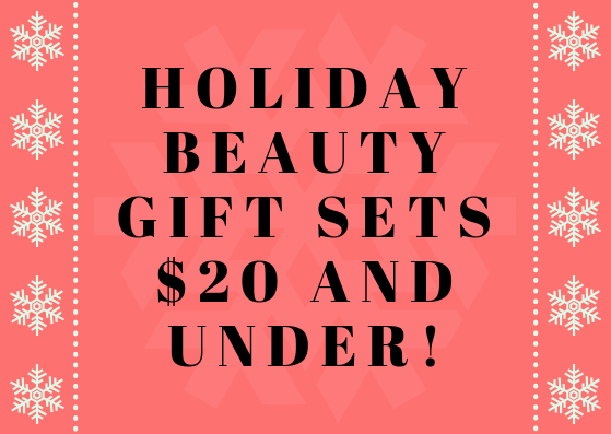 Check out my drugstore beauty gift guide for 2018!
