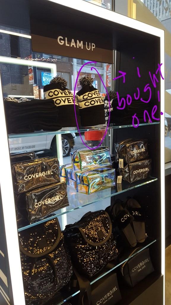 CoverGirl store merch