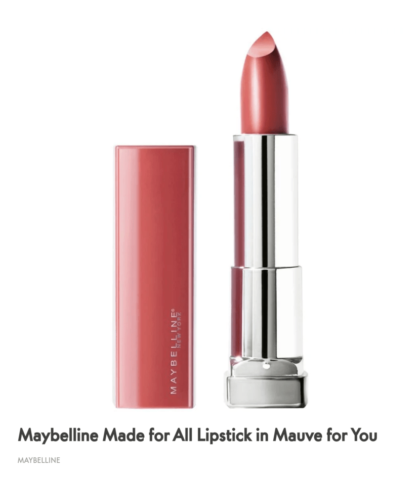 Made For All in Mauve For You