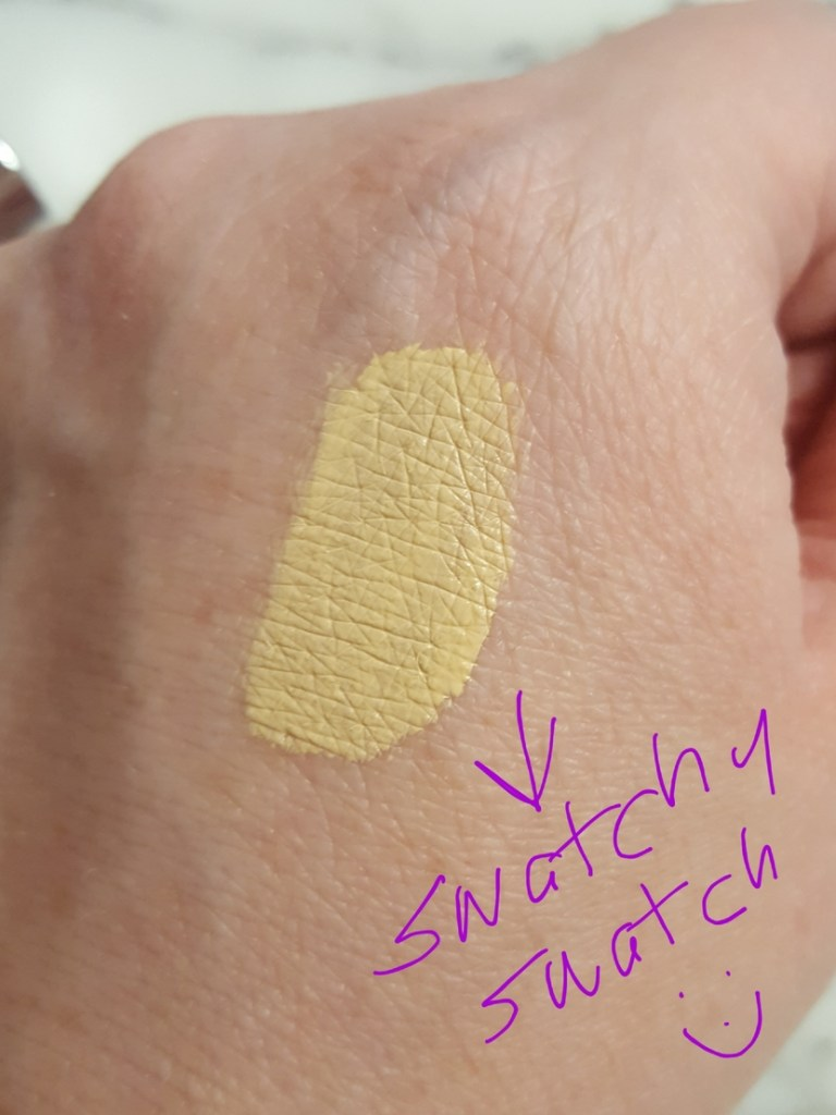 Swatch of Revlon PhotoReady Candid Concealer in the shade Light