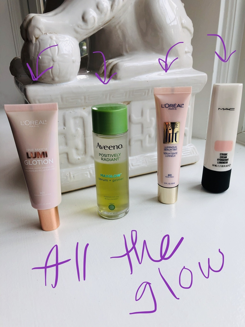 Glowy makeup primers – my picks!