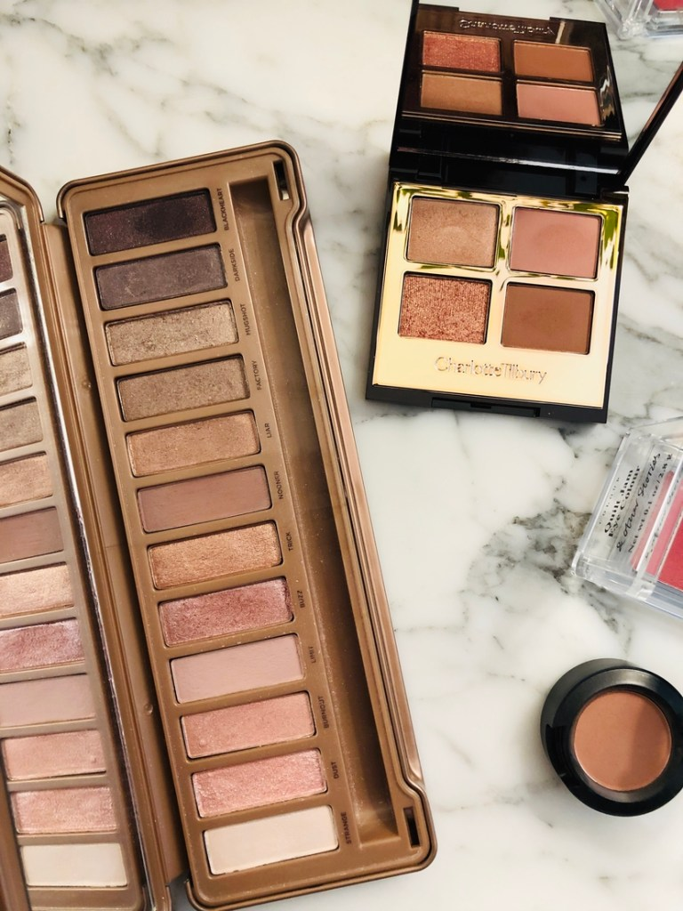 Urban Decay Naked3 Palette & Charlotte Tilbury Pillow Talk Palette