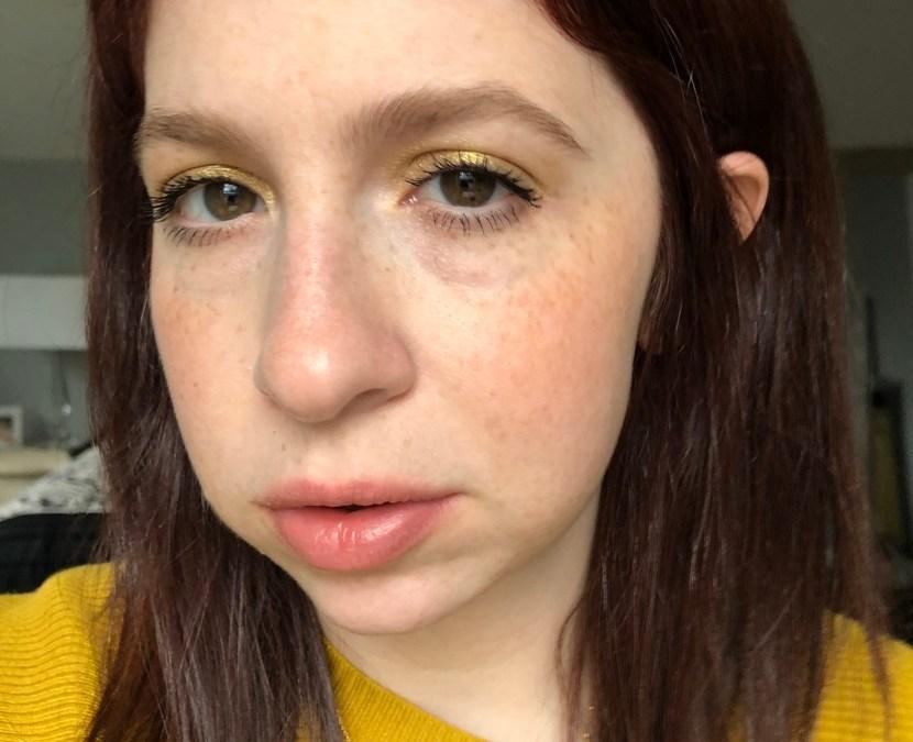 Yellow eyeshadow look | Capsule Makeup Series