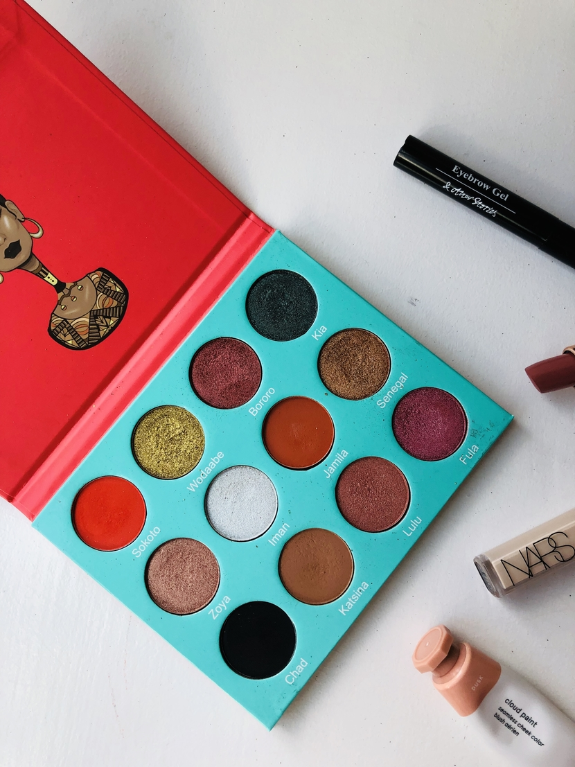Capsule makeup products, highlight on Juvia's Place Saharan Palette