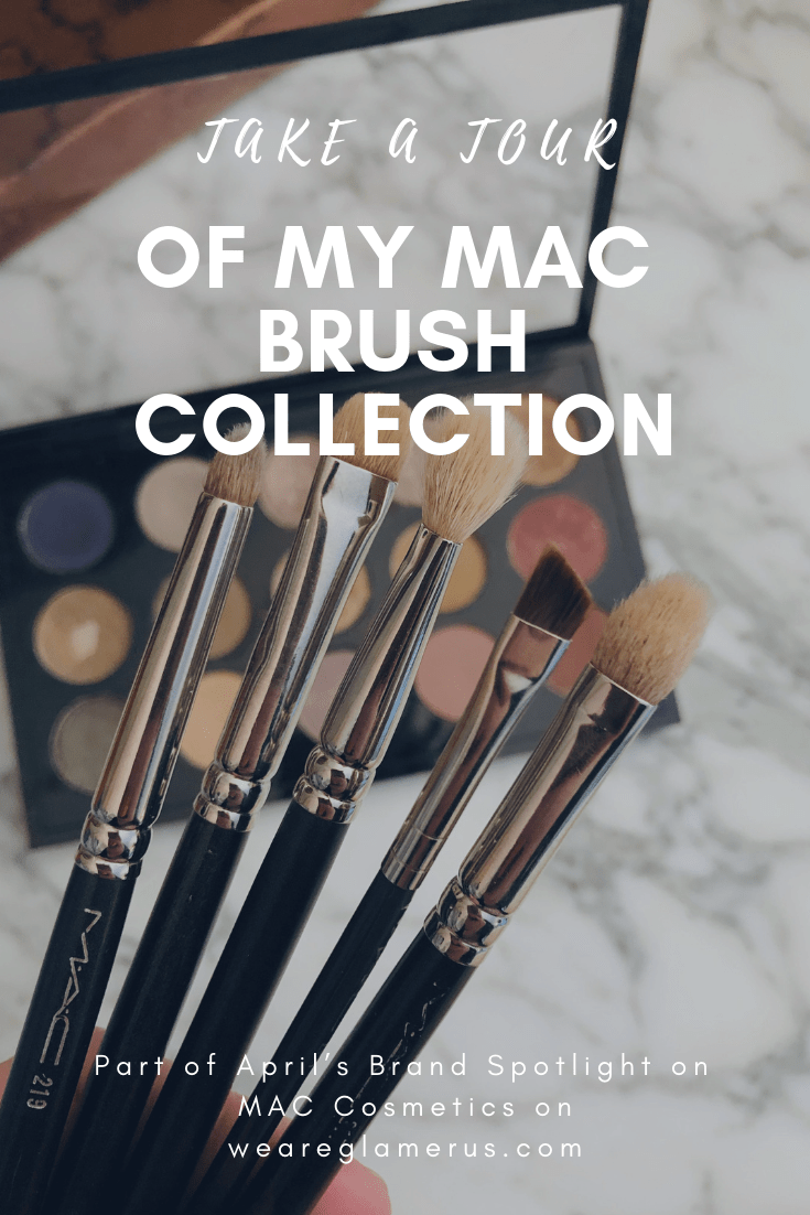April's Brand Spotlight in on MAC Cosmetics! Today I'm taking you on a tour of my MAC brush collection!