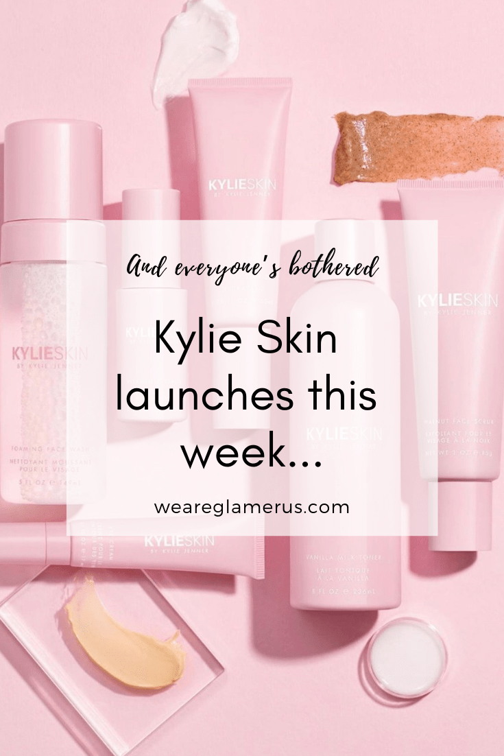 Kylie Jenner has finally entered the world of skincare. Kylie Skin launches this week, and it's already generating a lot of backlash online. Here's why!