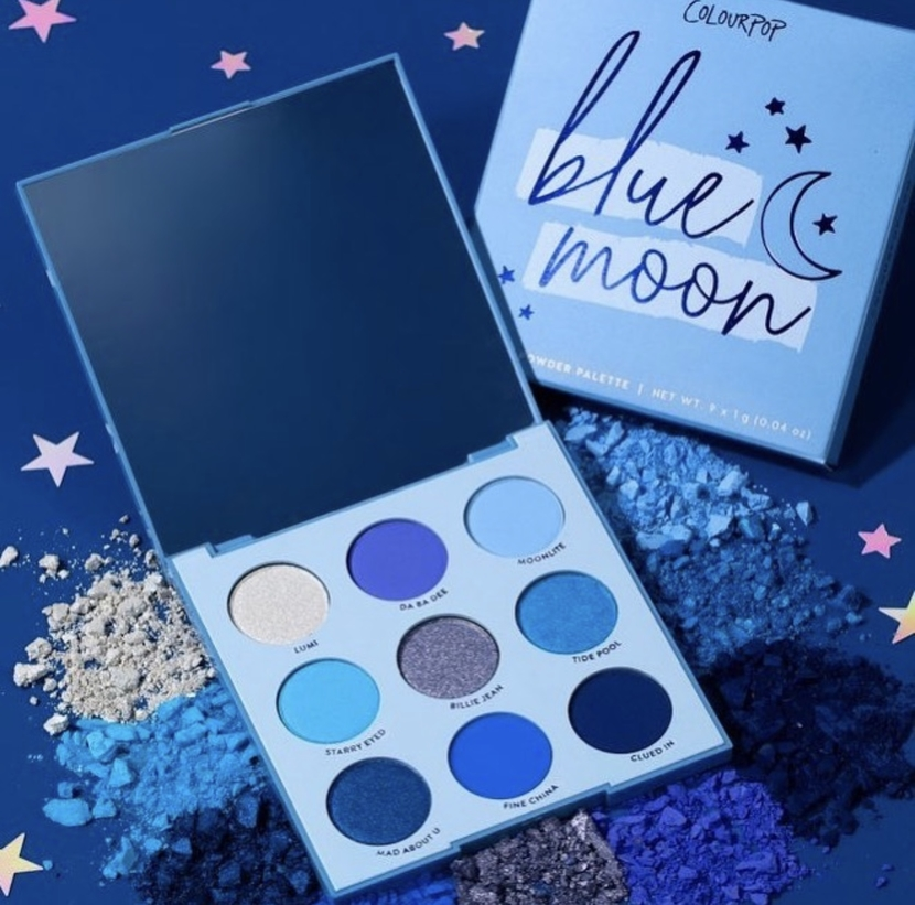 Colourpop Blue Moon Shadow Palette - beauty anti-wishlist June 2019