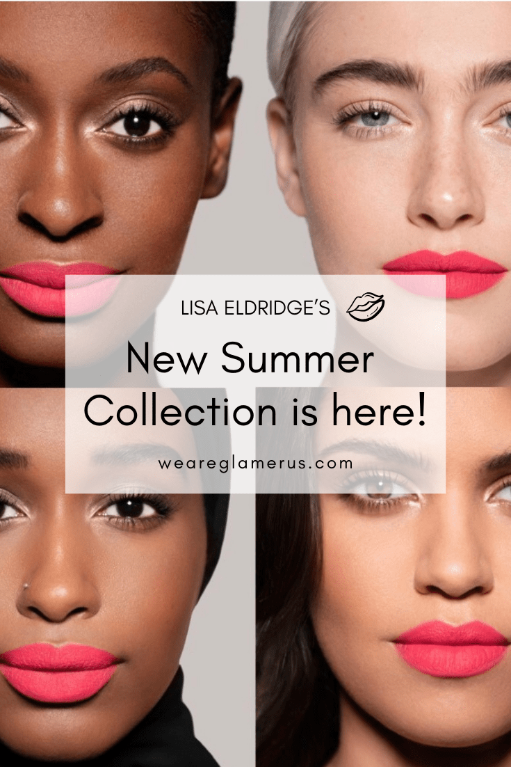 Lisa Eldridge is back with a summer collection of 4 pink lipsticks! Featuring two new formulas!