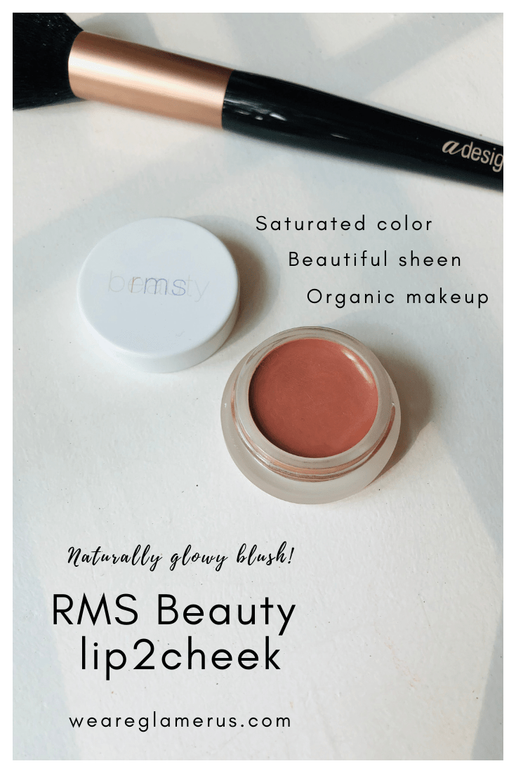 Indie beauty month continues today with a close look at the RMS Beauty lip2cheek in Spell, a naturally glowy blush that promises both color & hydration!