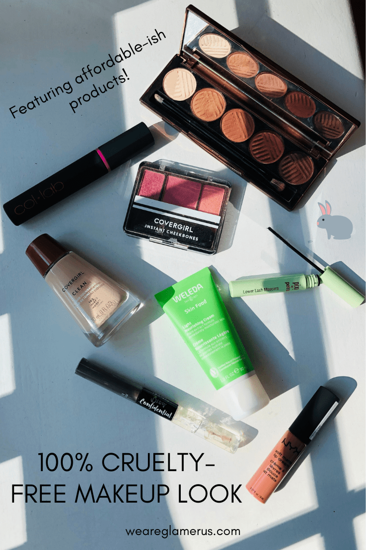 Check out my 100% cruelty-free makeup look featuring some indie brands and affordable-ish products!