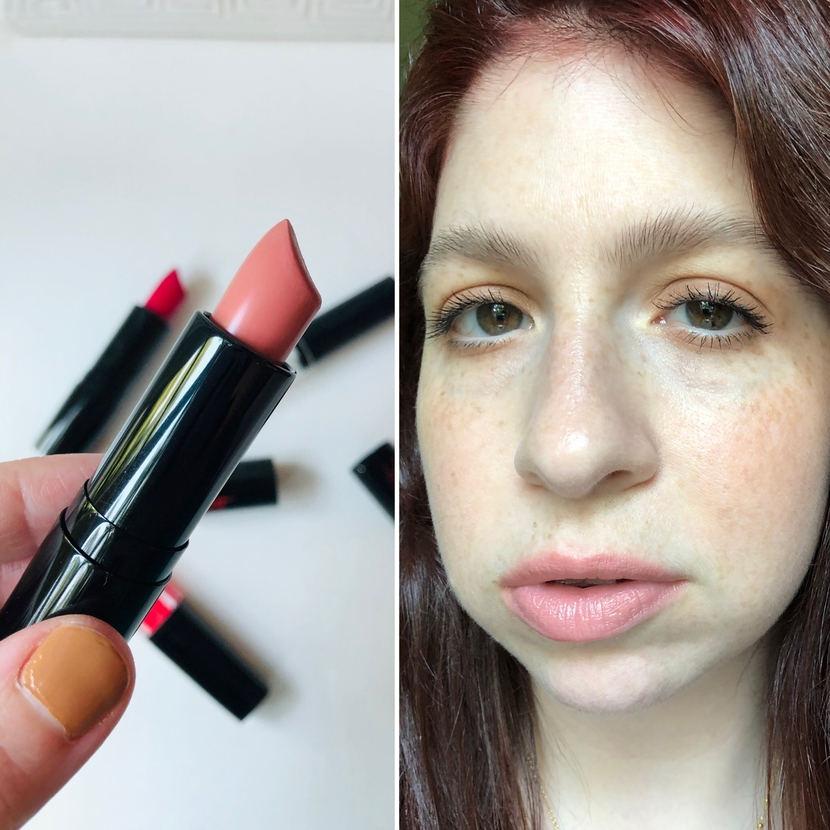 Matteshine Lipstick in Nympho Nude from The Sexiest Beauty