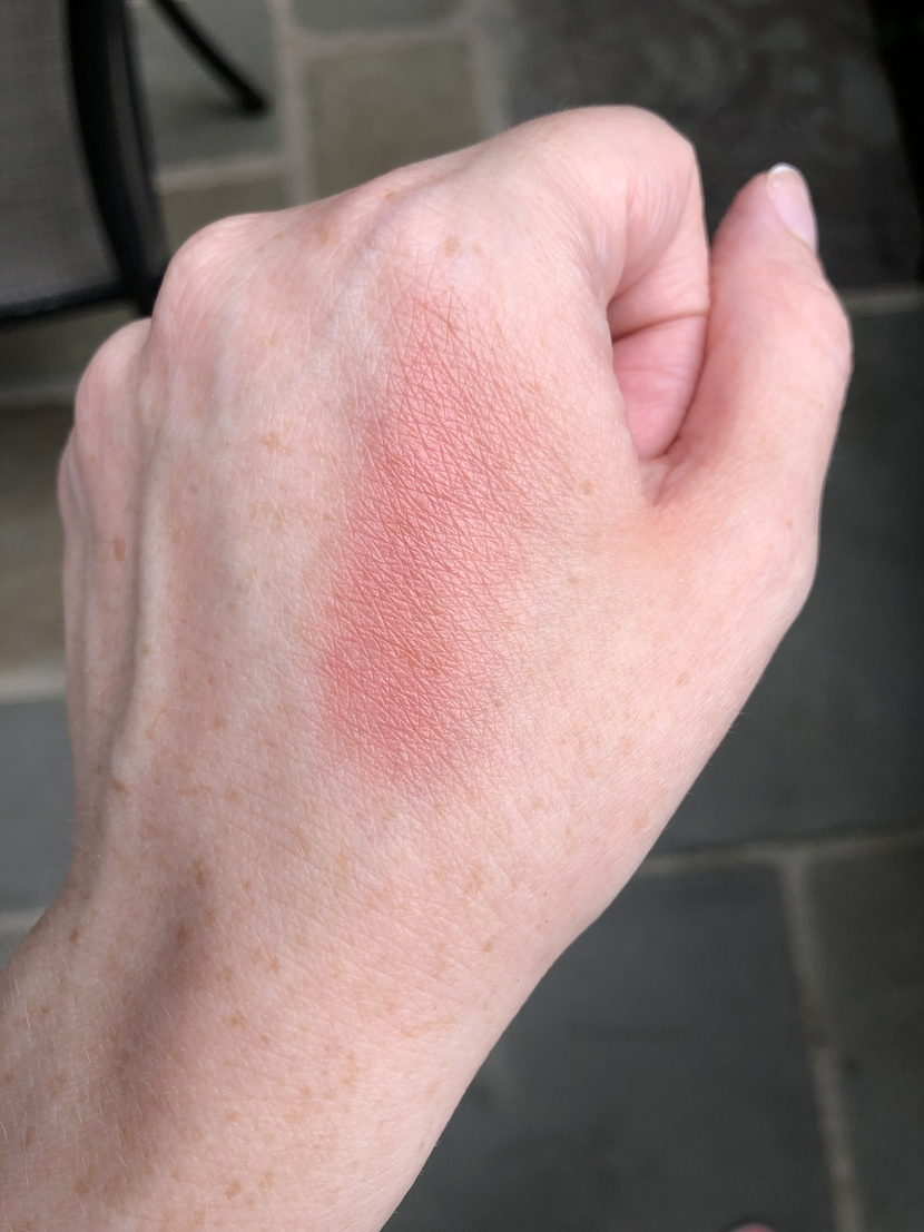 Swatch of the Flesh Tender Flesh Blush in Pulse on my hand