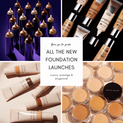 Your go-to guide to all the new foundation launches!