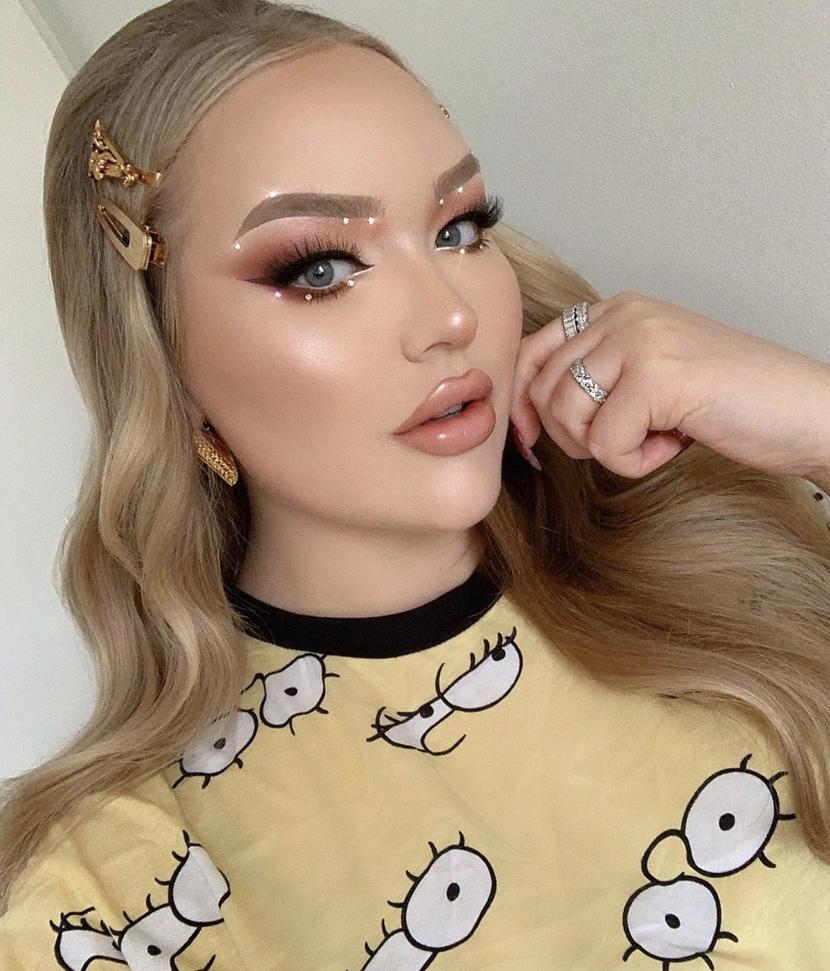 Euphoria inspired makeup look on Nikkie Tutorials