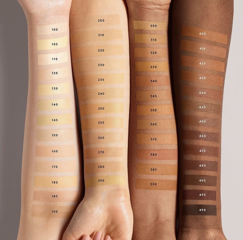 Fenty Beauty Pro Filt'r Hydrating Longwear Foundation (full swatches)