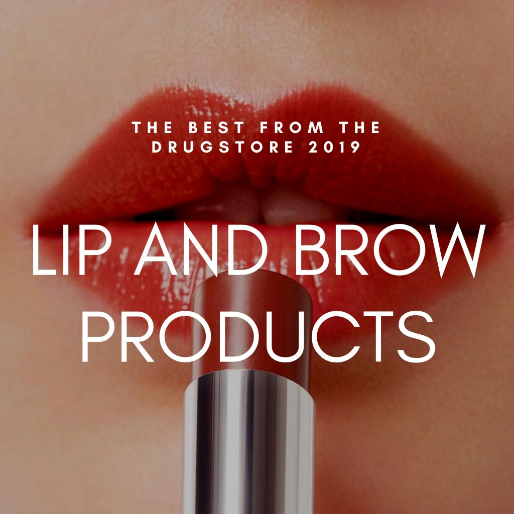 Check out my recommendations for the best drugstore lipsticks & brow products in this post!