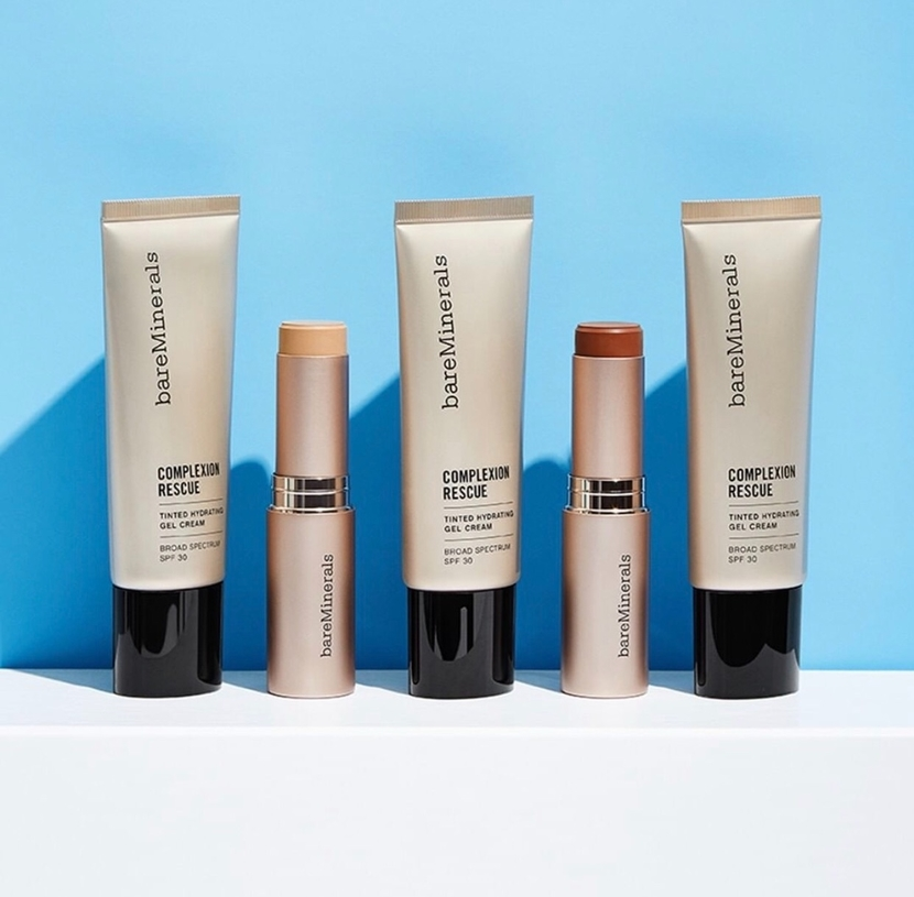 Bare Minerals Complexion Rescue (cream & stick formats) - fuss-free makeup gift guide holiday 2019