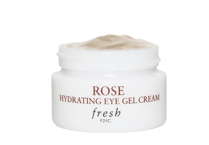 Fresh Rose Hydrating Eye Gel Cream - skincare gift guide for dry skin holiday 2019