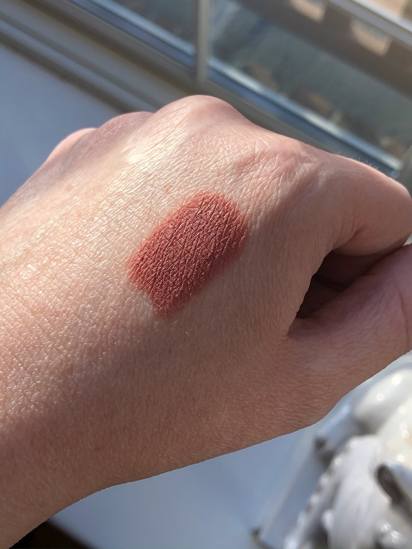 Swatch of Velvet Muse Lipstick
