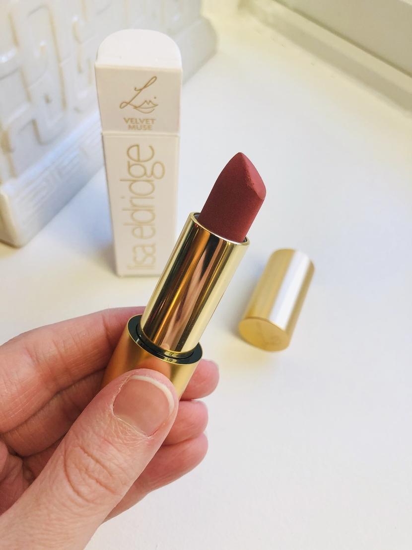 Lisa Eldridge Velvet Muse Lipstick up close