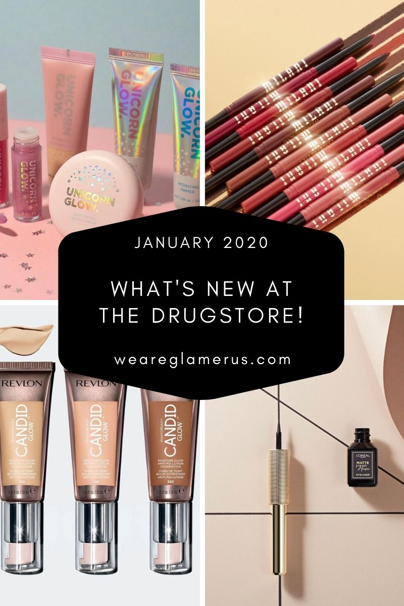 There's a bunch of cool new brands and new beauty launches at the drugstore this month! Check out this post to find out what's new at the drugstore!