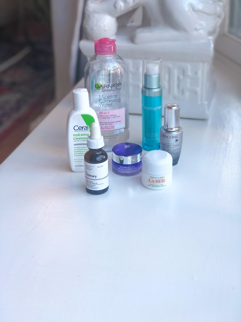 Products that make up my winter skincare routine