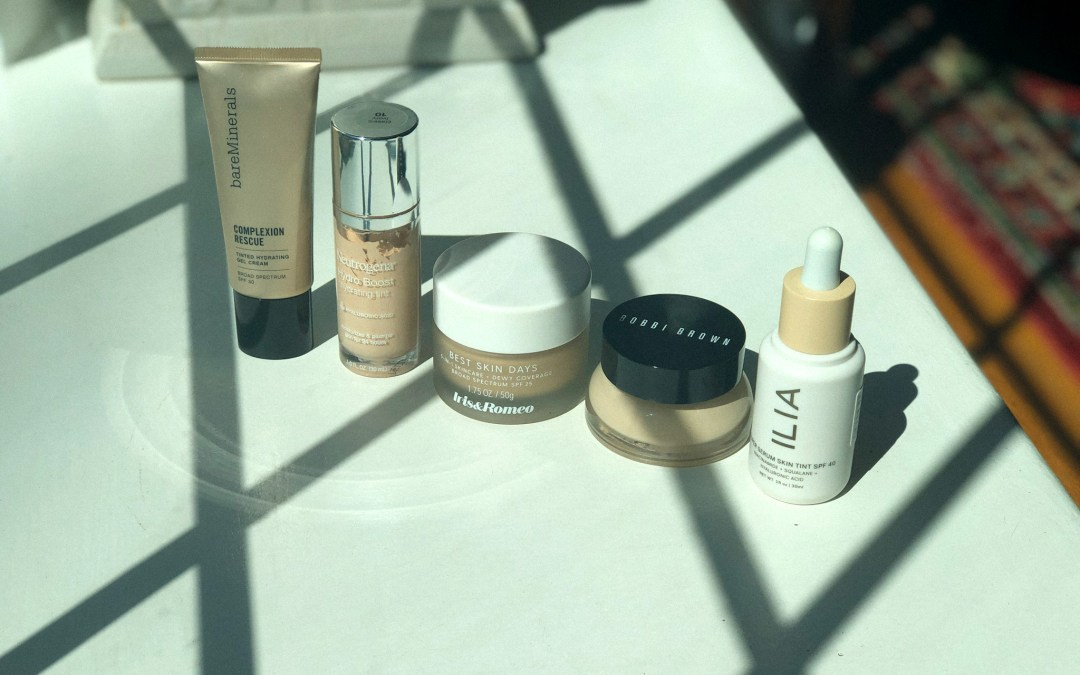 Take a tour of my (ranked) foundation collection