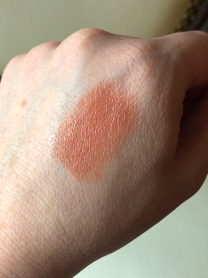 Swatch of HD Sand Lipstick
