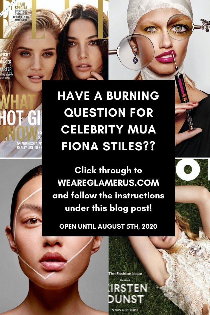 Check out my Q&A with celebrity MUA Fiona Stiles!