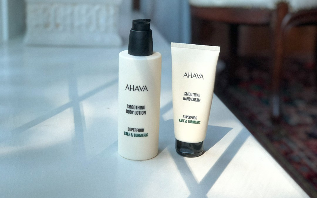 NEW Product Review! AHAVA Superfood Body Care