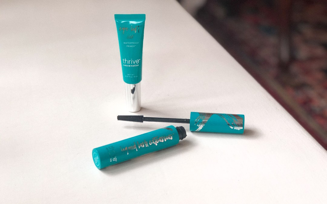 Thrive Causemetics Mini Reviews: Liquid Lash Extensions Mascara & Eye Primer