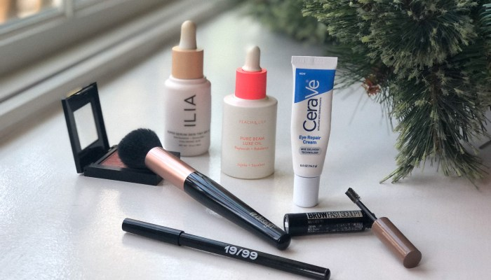 My Top Ten Beauty Products of 2020