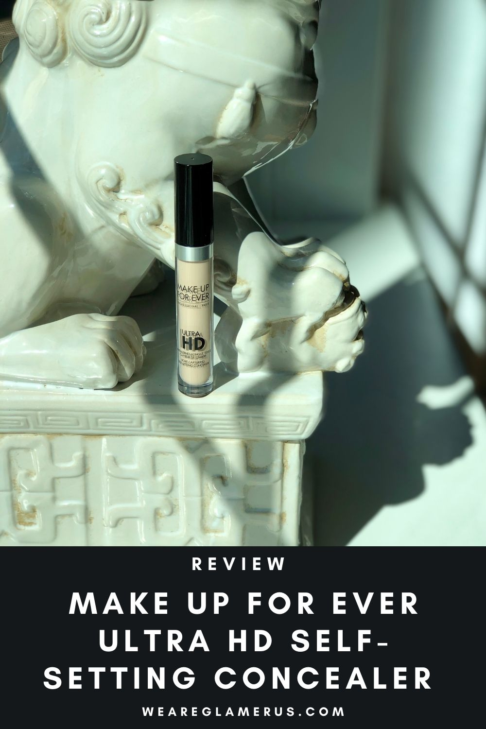 Check out my in-depth review of the Make Up For Ever Ultra HD Self-Setting Concealer in today's post!