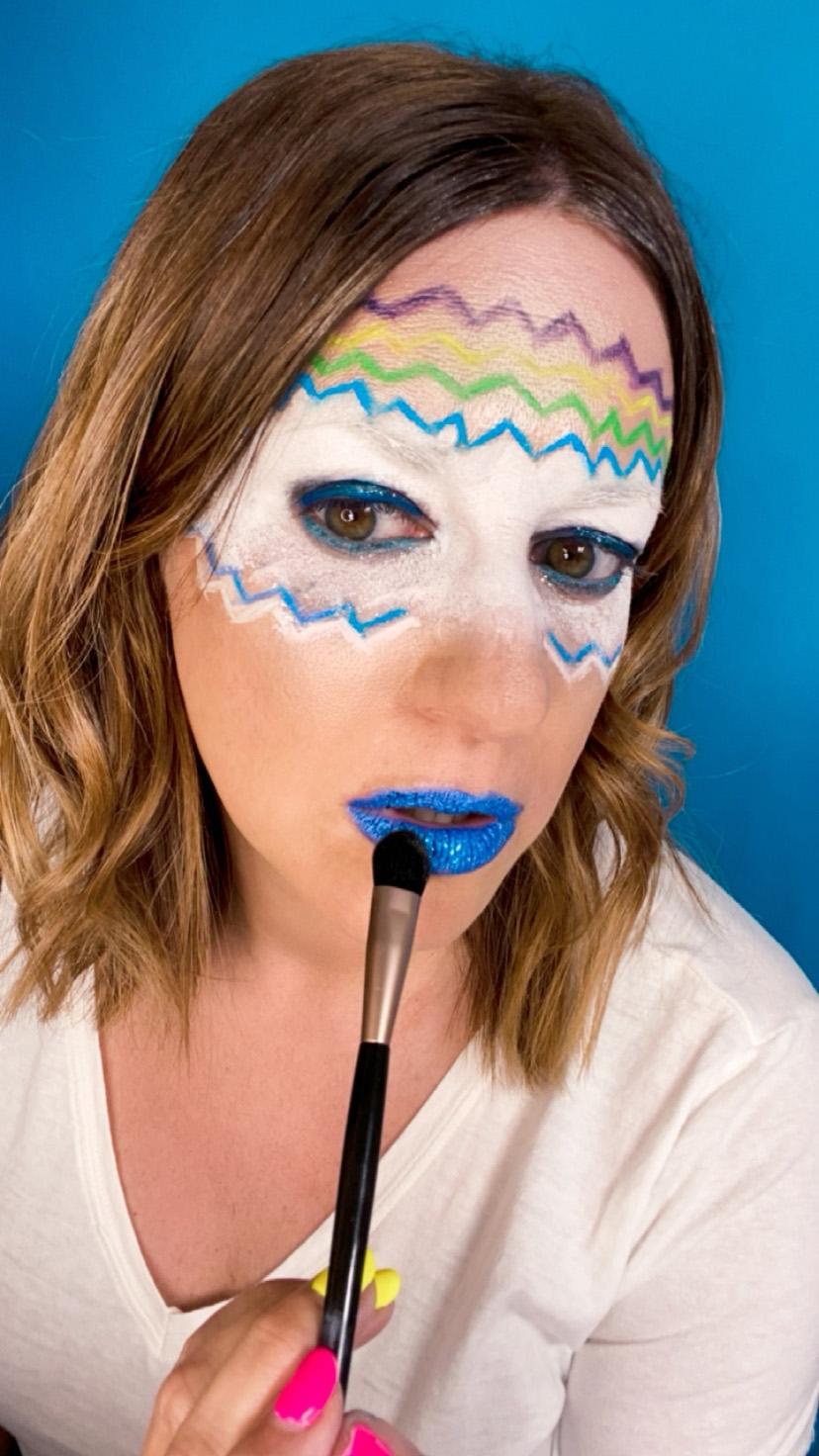 Excedrin migraine makeup look 2