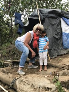 Five-year-old Anita welcomed Elizabeth Cole to her home in the hills of Jocotenango.