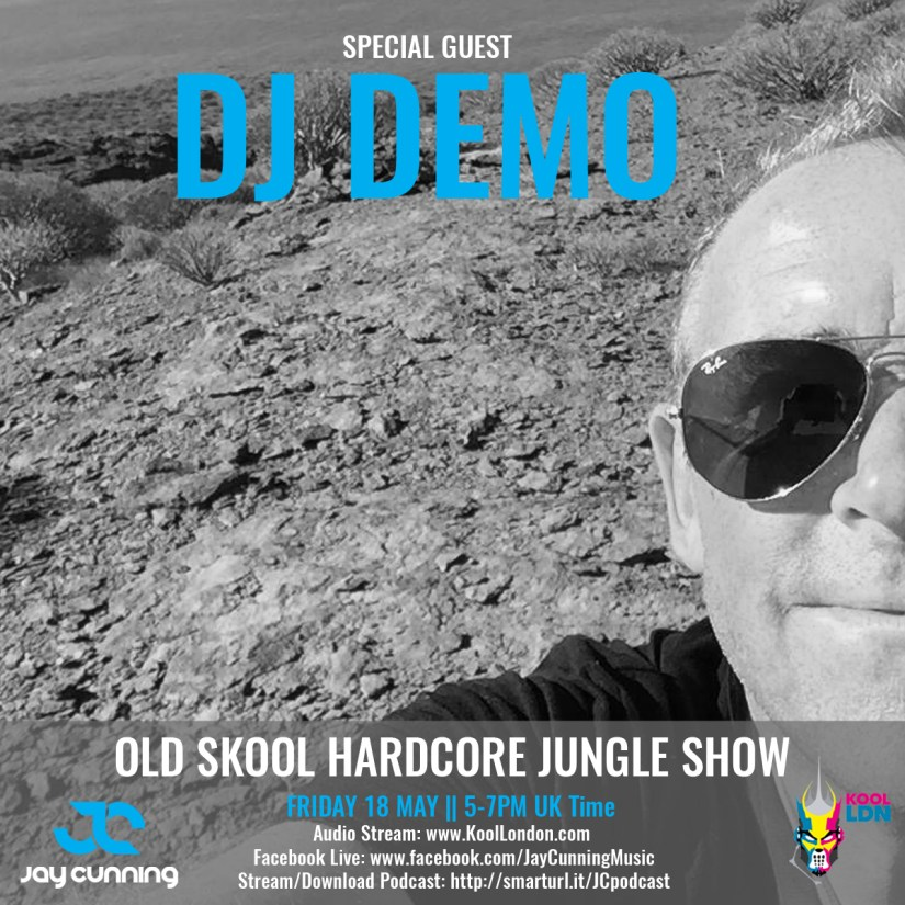 Jay Cunning Old Skool Hardcore Jungle Podcast - Guest DJ Demo