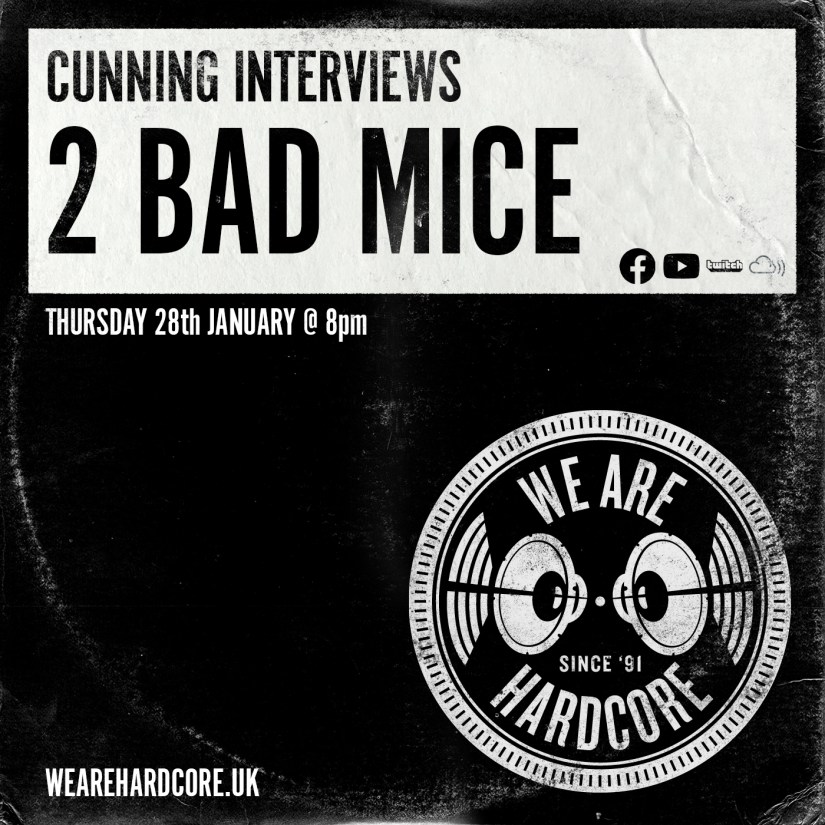 Cunning Interviews | 2 BAD MICE | We Are Hardcore