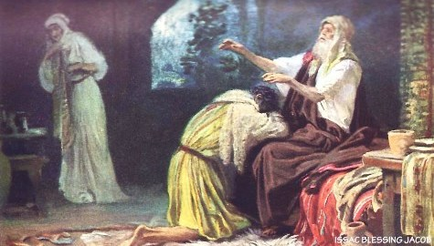 Jacob received the blessing, Genesis 27, Yasher 28, Yasher 29, Jacob stole the blessing,
