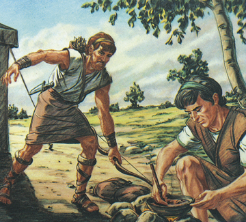 jacob and esau timeline